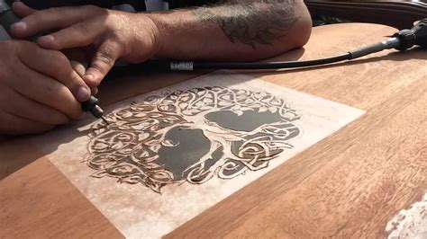 dremel wood carving project headboard part  dremel