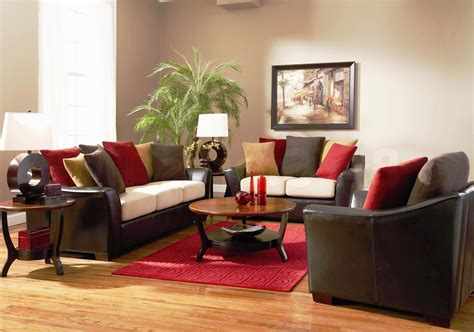 Gray Brown Red Living Room Best Site Wiring Harness