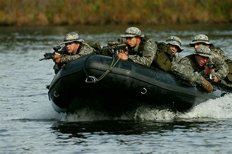 Zodiac Boat Training by Us Army Rangers Zodiac Photo