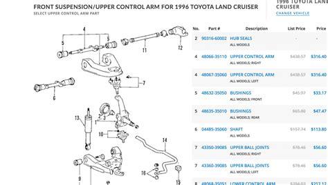 Toyota Parts Diagram by Oem Toyota Parts Catalog Diagram Ih8mud Forum