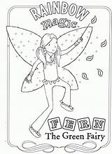 Rainbow Magic Coloring Pages Print Colouring Fairy Fairies Ruby Books Printable Adult Party Cartoon Visit Cartoons Green Printablecolouringpages sketch template