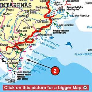 Montezuma Costa Rica Maps