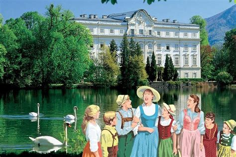 Start at mirabell gardens and visit the original film locations like leopoldskron palace, nonnberg abbey and hellbrunn palace. The Original Sound of Music Tour in Salzburg, Austria - Journey House Travel
