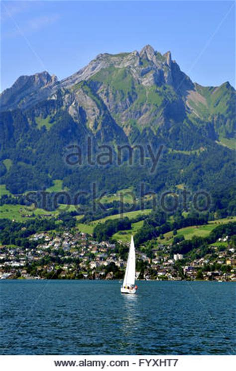 Hergiswil To Lucerne By Boat by Sailing Boat Mount Pilatus Hergiswil Lake Lucerne