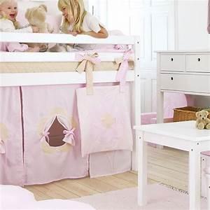 Spielbett Mädchen : vorhang spielvorhang f r spielbett flower rosa ~ Pilothousefishingboats.com Haus und Dekorationen
