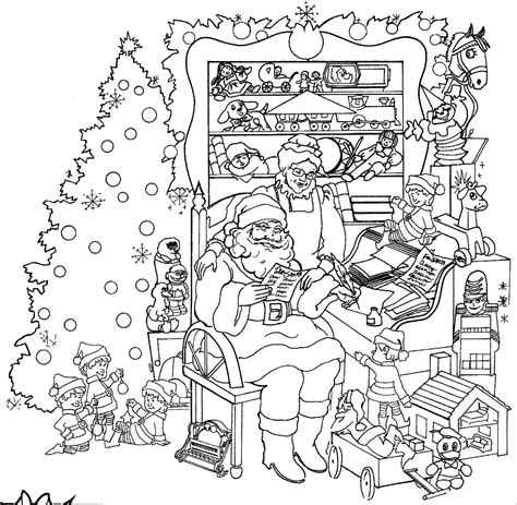 Christmas Coloring Pages for Adults 2018  Dr. Odd