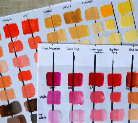 color mixing acrylic paint tutorial watercolor techniques colors acrylics and