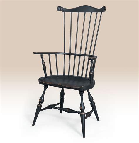 historical greenwich fan back chair