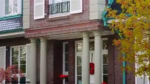 Lichterkette Außen Sommer : hausbau s ulen s ulen vordach stilvolle beton s ulen f r ihr haus youtube ~ Orissabook.com Haus und Dekorationen