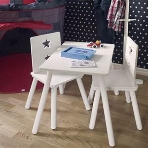 Kindertisch Und Stühle Weiß : kindertisch stern wei bei oli niki bestellen ~ Whattoseeinmadrid.com Haus und Dekorationen