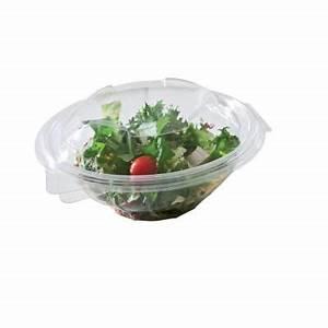 Bol A Salade : bol salade couvercle transparent par 50 cm 370 cc ~ Teatrodelosmanantiales.com Idées de Décoration