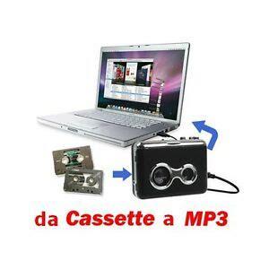 convertire cassette in mp3 gf trasformare convertire trasferire musi cassette in mp3
