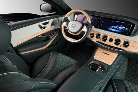 TopCar Mercedes S600 Guard Interior