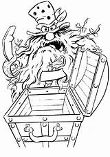 Coloring Pages Casket Muppets Muppet Cool Open sketch template