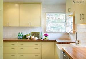 7 colorful kitchens that will make you want to paint your With kitchen colors with white cabinets with window view wall art