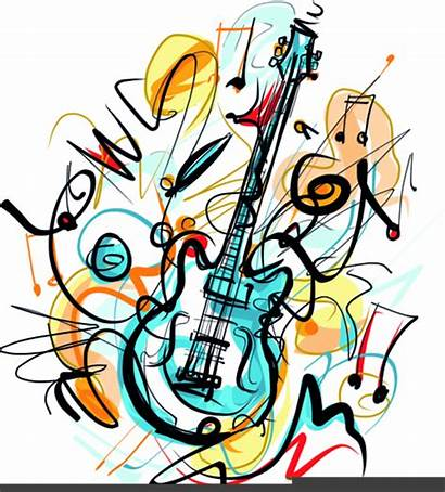 Instruments Musical Clipart Clip Royalty Cliparts Clker