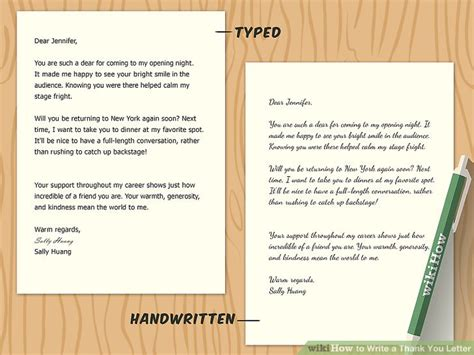 Article Template Ingles by How To Write A Thank You Letter With Sle Letters