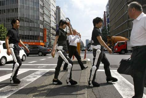 cyberdyne robot anzug hal der geh hilfe roboter foerderland