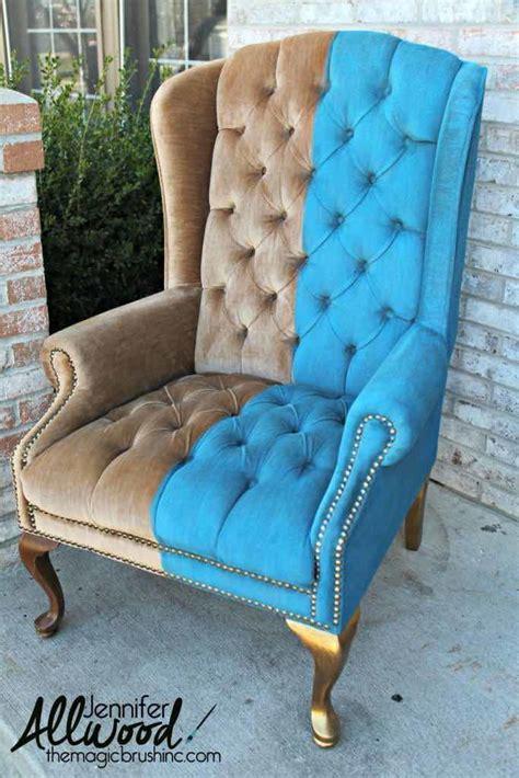 How to Paint Crushed Velvet Furniture   DIYIdeaCenter.com