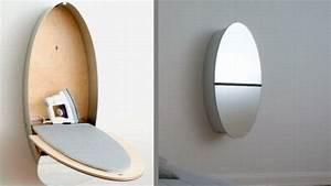 Lighting ideas for dining rooms, hidden ironing board
