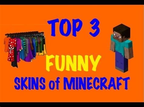 minecraft skins top  funny skins  minecraft youtube