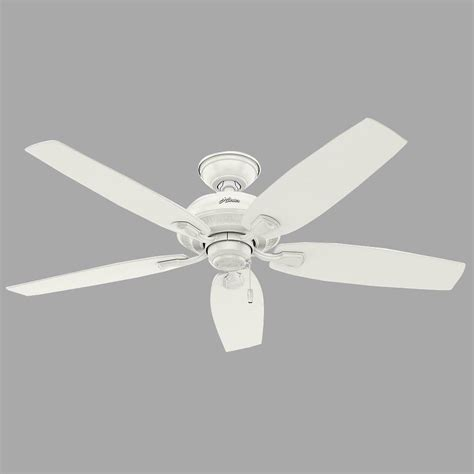 hunter channing ceiling fan hunter channing 52 in white ceiling fan with light kit
