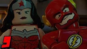 Lego Batman 3 Beyond Gotham Let's Play Part 9 Wonder Woman ...