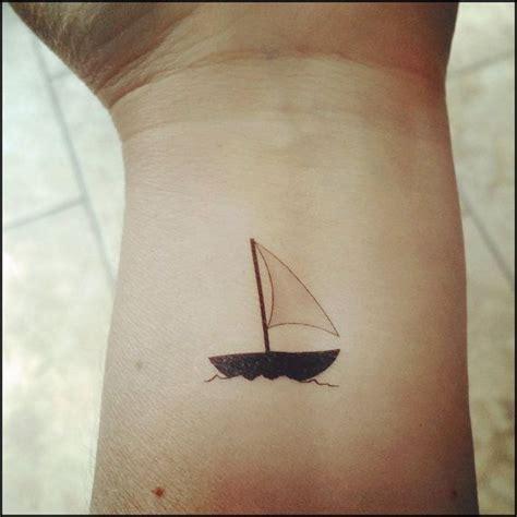 Small Boat Tattoo Designs by 25 Best Sailboat Tattoos Ideas On Pinterest Sail Tattoo
