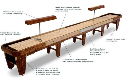 shuffleboard table buying guide written   pros