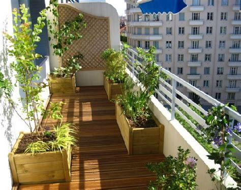 decoration balcon long  etroit decoration balcon deco