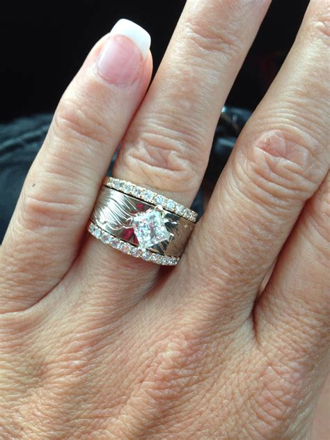 my awesome western wedding ring cool things pinterest