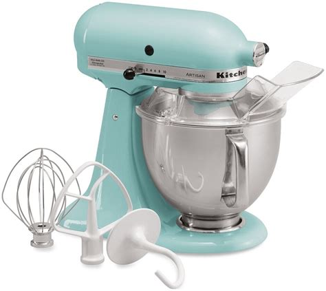 Kitchenaid Mixer Aqua Sky by Kitchenaid Blue Artisan 5 Quart Stand Mixer Martha Stewart