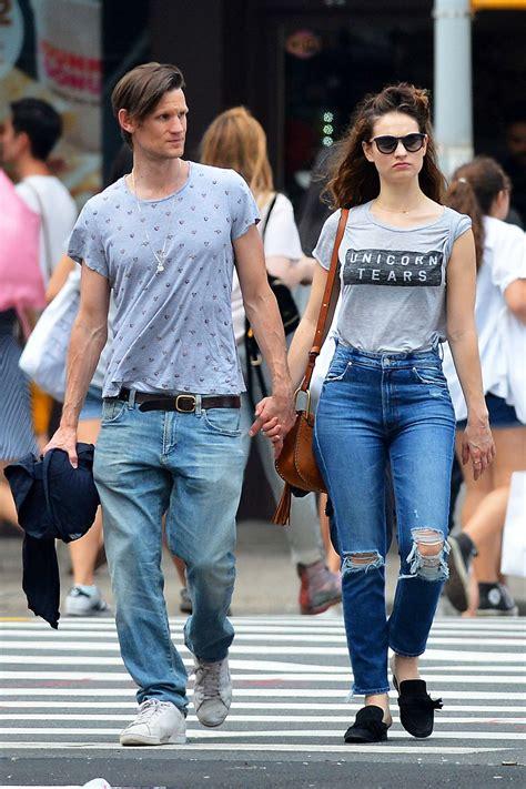 lily james  boyfriend    york city  gotceleb