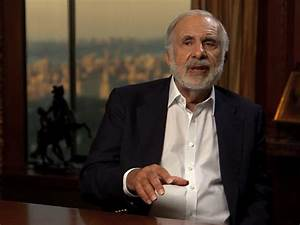 CARL ICAHN WARNS: The red-hot stock market is being ...