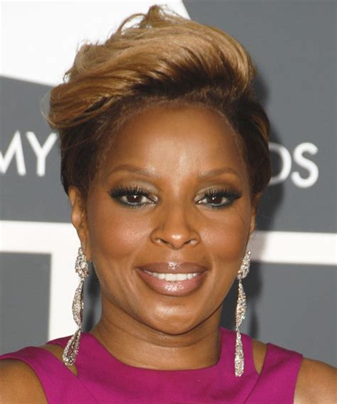 mary  blige hairstyles