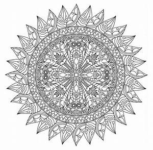 Adult Coloring Pages Printable Mandalas