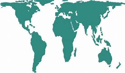 Map Vector Clip Svg Clipart Earth Continents