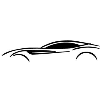 Ferrari f40 silhouette produced by ferrari. Stickers et autocollants FERRARI, la qualité LEZEBRE.LU l ...