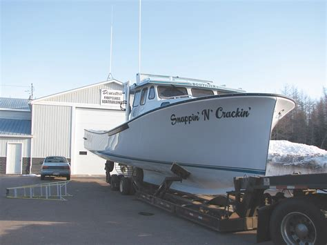 Lobster Boat Builders Pei by Navigator Magazine New Boats