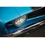 1969 Chevrolet Camaro Headlight Closeup Photo 5