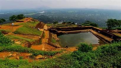 Sigiriya Earth Rock Heavens Srilanka Architecture Shelter