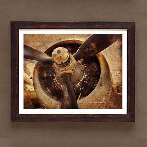 aviation art vintage wwii airplane prop
