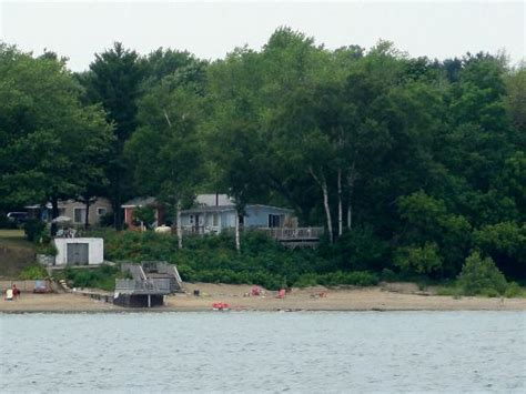 Car Rentals In Huron Mi by Cottage Property As Seen From Lake Huron Picture Of