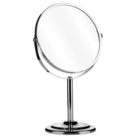 Bathroom Magnifying Vanity Mirrors by Swivel Chrome Free Standing Vanity Magnifying Bathroom 2