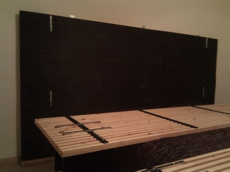Ikea Mandal Headboard Hack by Mandal Headboard Wall Hack Ikea Hackers Ikea Hackers