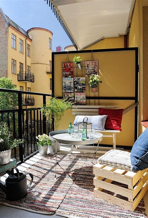 idees pour amenager son balcon en  idee deco