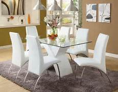 The Captivating Image Is Other Parts Of Dining Room Table Sets An Dining Room Design Ideas Also Dining Room Design Ideas On Dining Room Dining Room Design With Black Wood Dining Table And 6 White Chairs Glass Top Square Dining Table White Dining Chairs White Dining Room