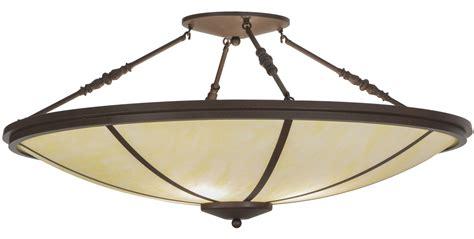 meyda 146505 commerce led semi flush mount ceiling fixture