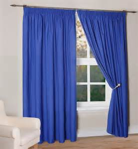 bright blue metalic curtain for living room window feat