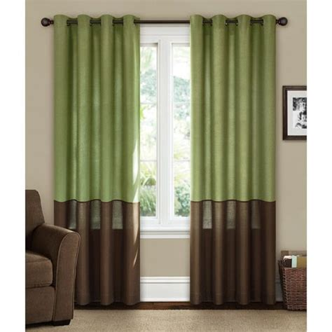 canopy lined color band grommet top energy efficient